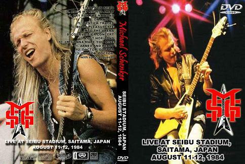 マイケルシェンカーSUPER ROCK'84 ...