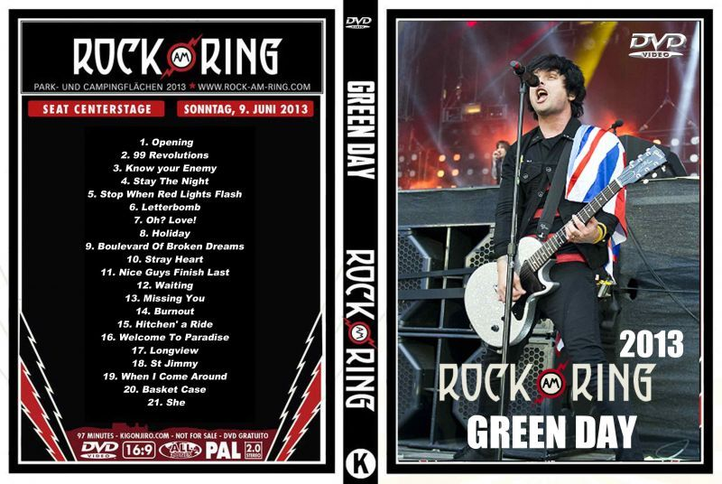 Image result for Green Day Live At Rock Am Ring 2013