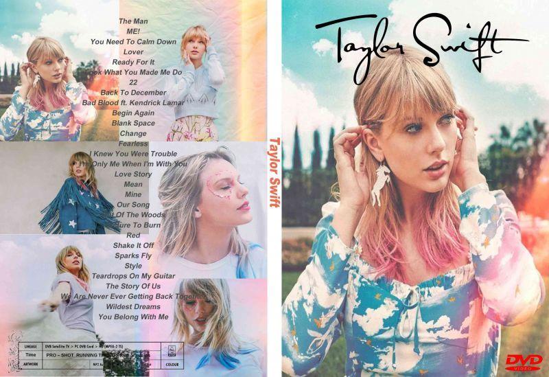 テイラースウィフト 2020 30曲高画質プロモ集 Taylor Swift Dvd Souflesh 音楽工房